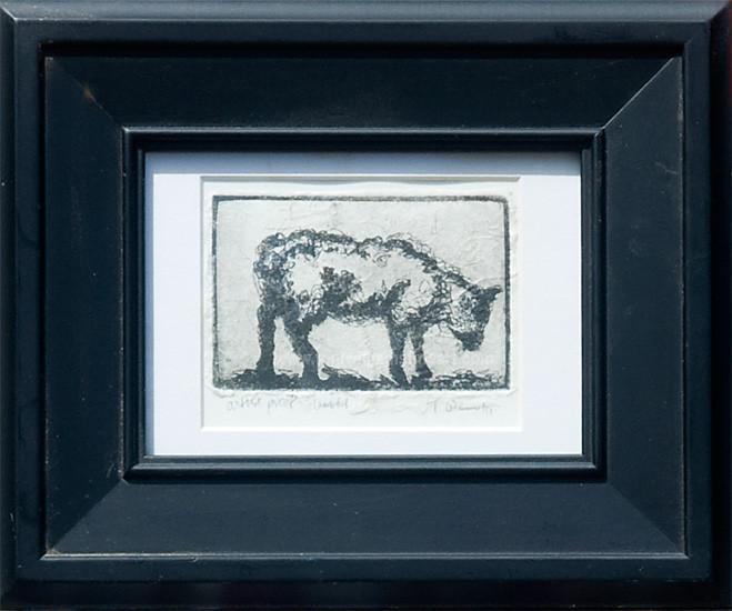 <h2>Lamb #4<br />Intaglio chine-colle 4 x 6</h2>