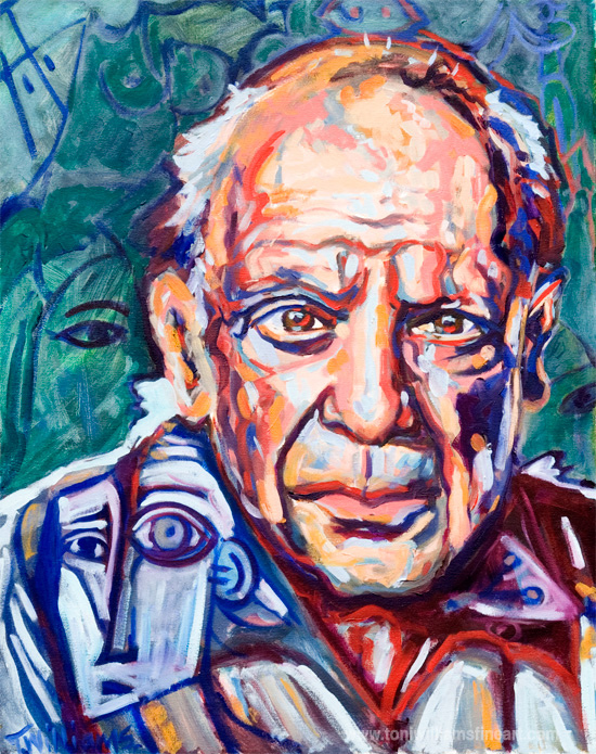 <h2>Picasso <br />24 x 30</h2>