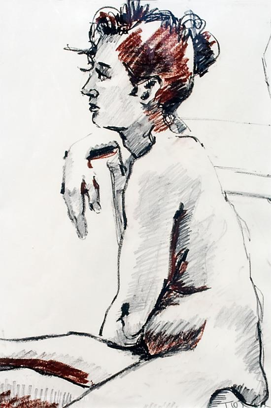 <h2>Sofia Oil Pastel Pencil <br />20 x 29</h2>