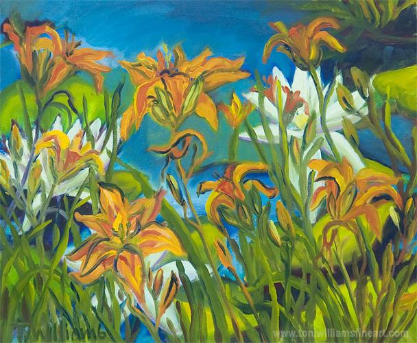 <h2>Pond Lilies III</h2>
