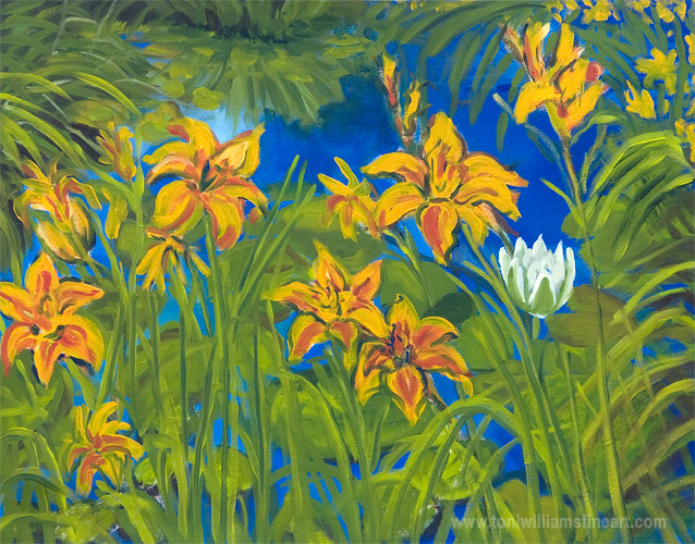 <h2>Pond Lilies II</h2>