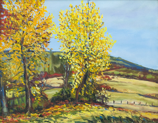 <h2>3rd Avenue in Yellows <br />24 x 30</h2>