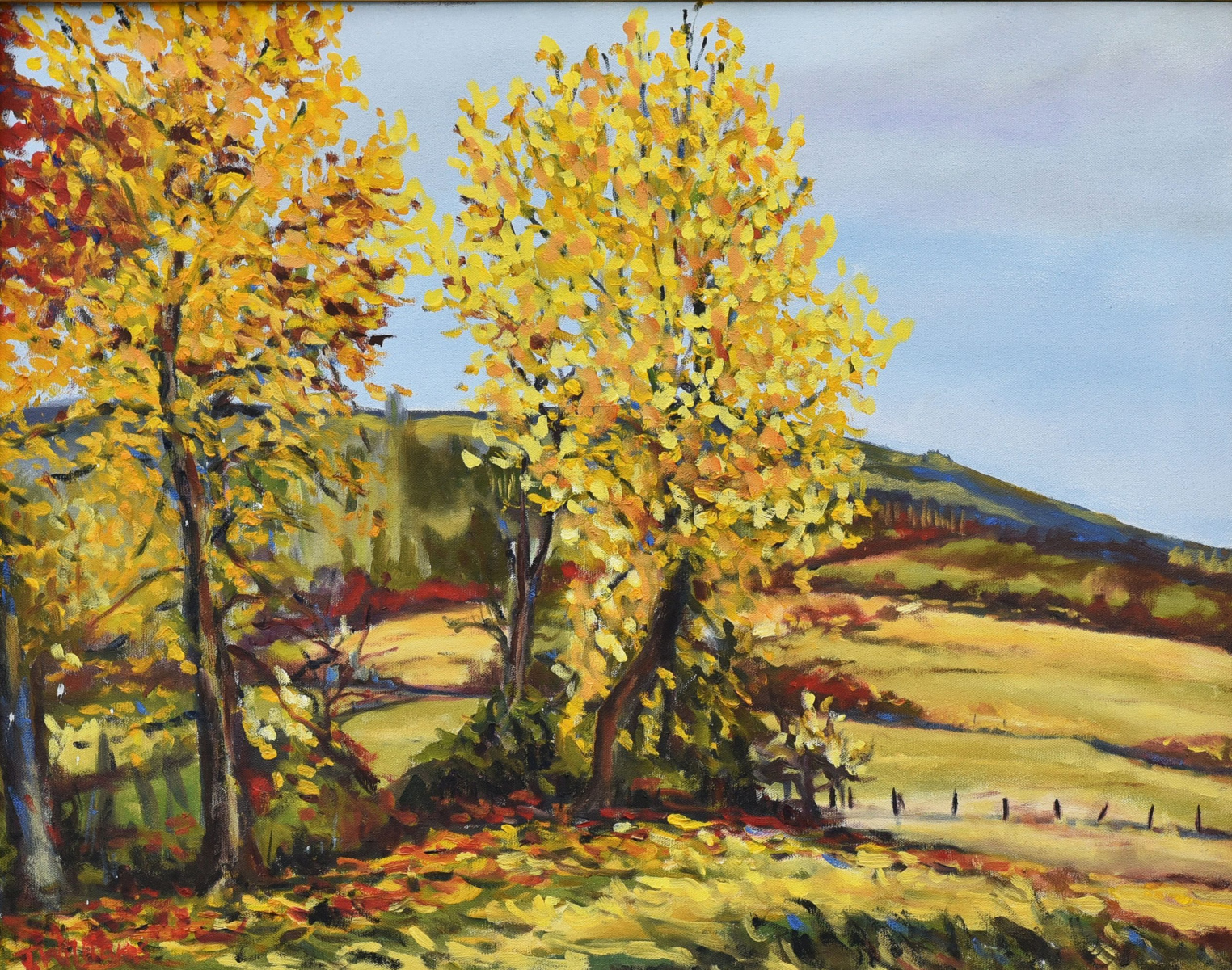 <h2>3rd Street In Yellow<br />24 x 30</h2>