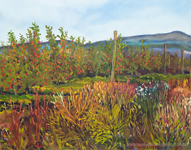<h2>Apple Orchard <br />24 x 30</h2>