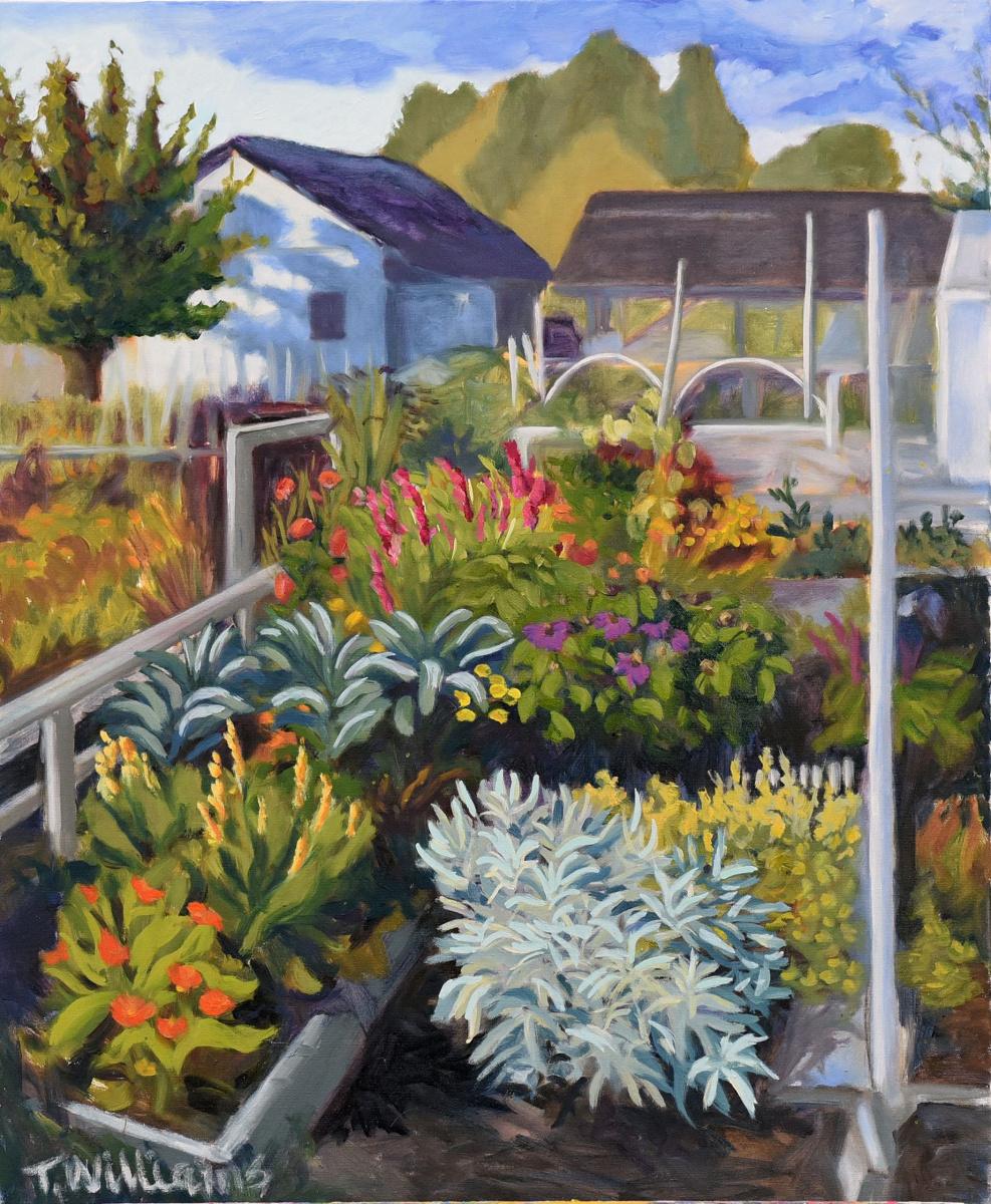 <h2>August Dusmier Gardens<br />24 x 30</h2>