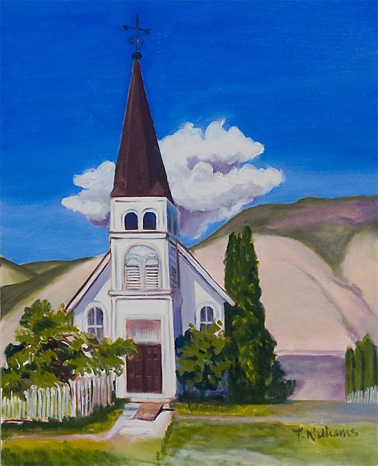 <h2>Ashcroft Church<br /> 24 x 30</h2>