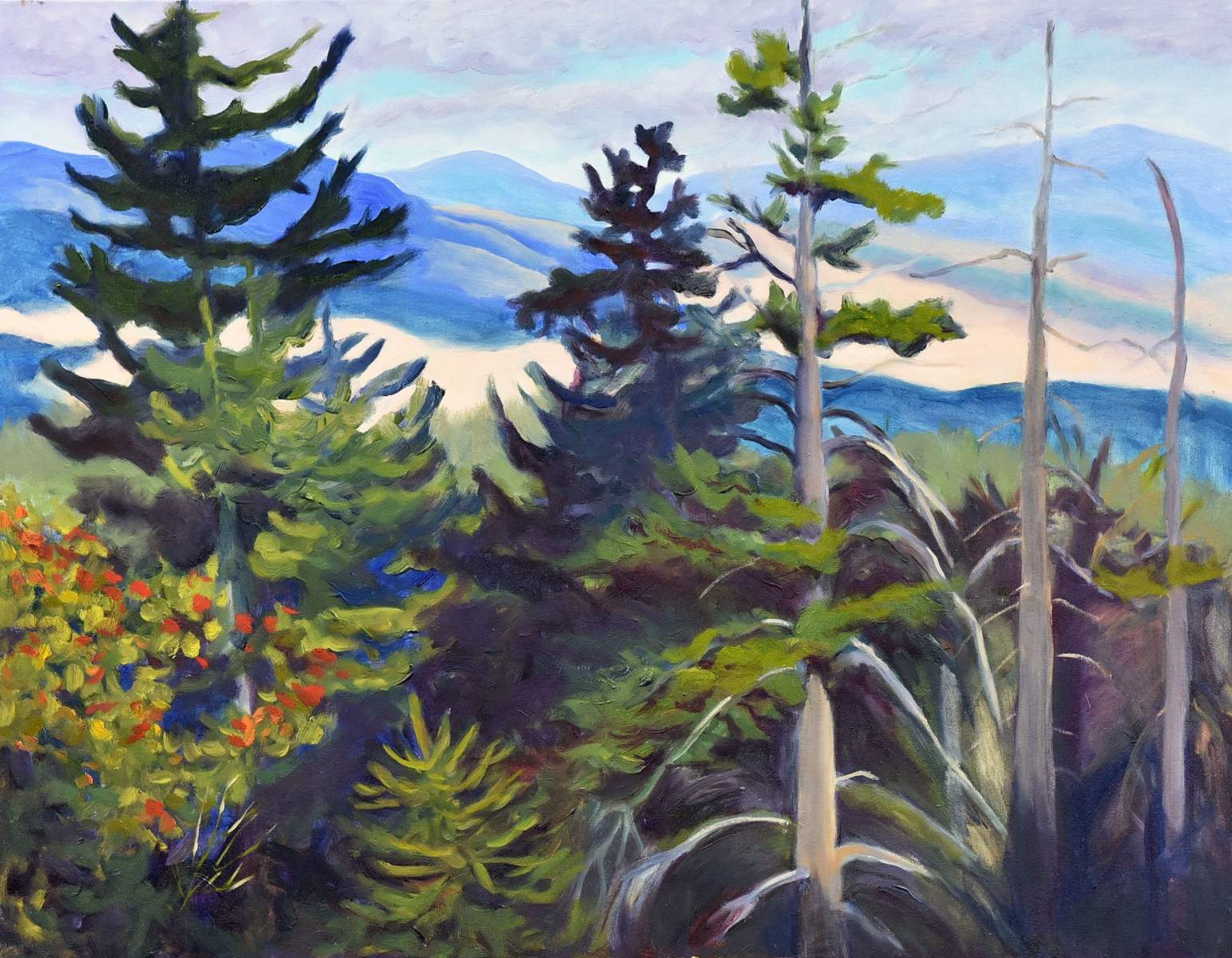 <h2>Campbell Range Road View<br />24 x 30</h2>