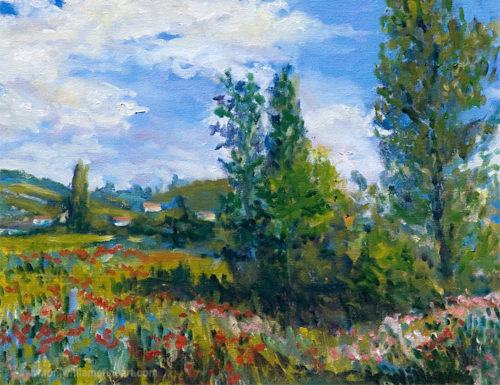 <h2>French Fields <br />16 x 20</h2>
