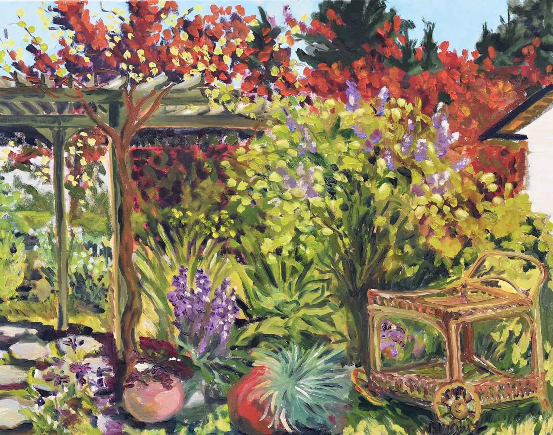 <h2>Grape Vine Garden Series<br />24 x 30</h2>