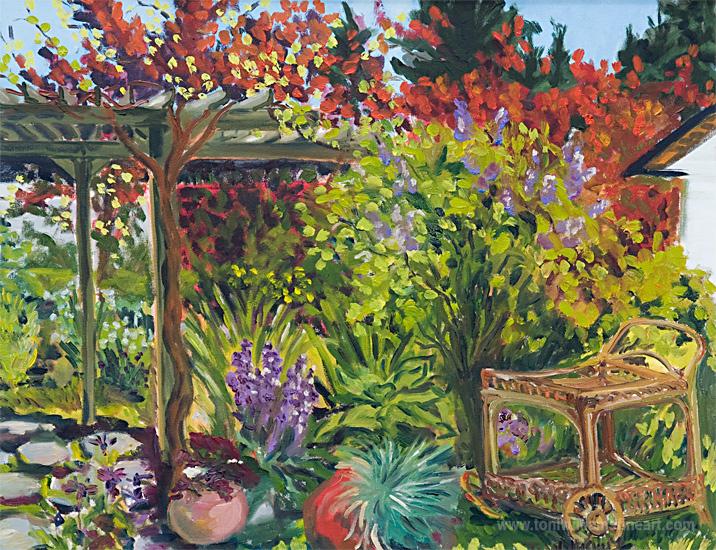 <h2>Grapevine Garden <br />24 x 30</h2>
