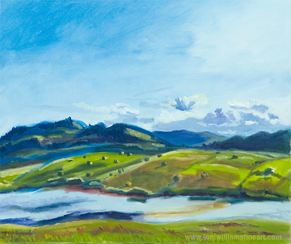 <h2>Hay Fields, West View, Campbell Lake <br />20 x 24</h2>