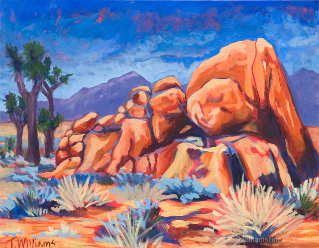 <h2>Joshua Tree in Red</h2>