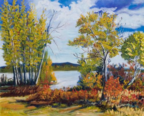 <h2>Lac La Hache<br /> 30 x 36</h2>