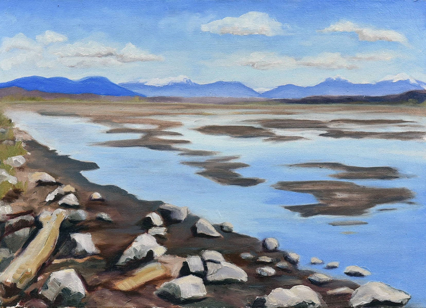 <h2>Serene View Boundary Bay<br />18 x 24</h2>