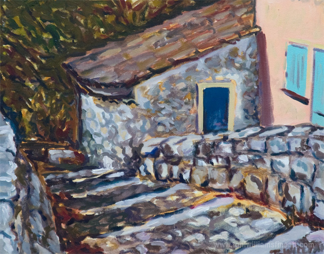 <h2>Somewhere in France <br />13 x 16</h2>