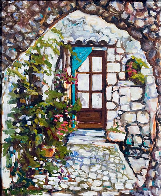<h2>St. Agnes Doorway<br /> 16 x 20</h2>