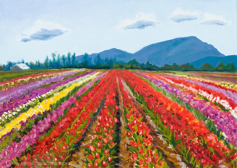 <h2>Tulip Fields #1 <br />18 x 20</h2>