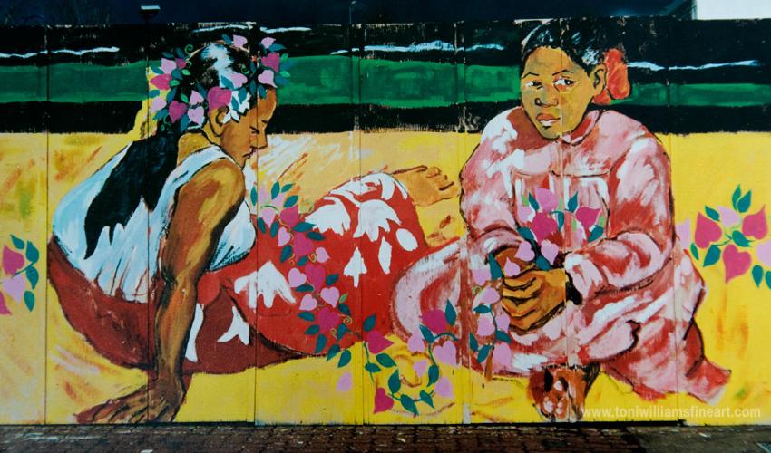<h2>Mural: From Gauguin</h2>