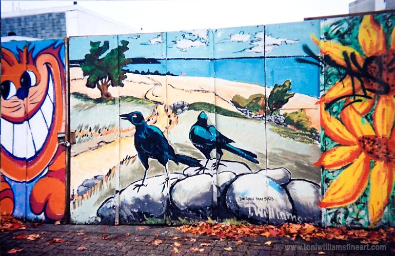 <h2>Mural: Tom Thompson Blackbirds</h2>
