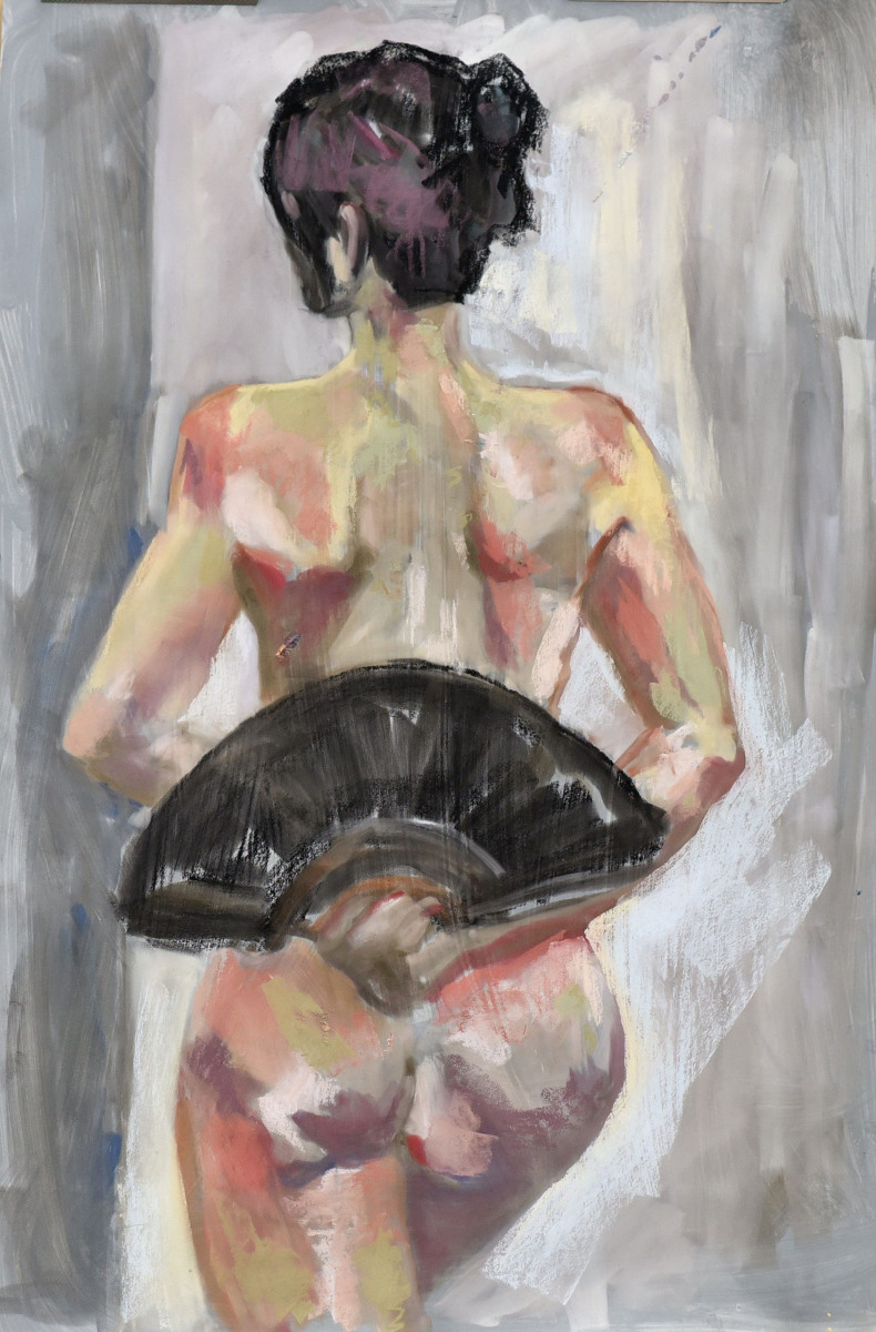 <h2>Ann From Back<br />24 x 36</h2>