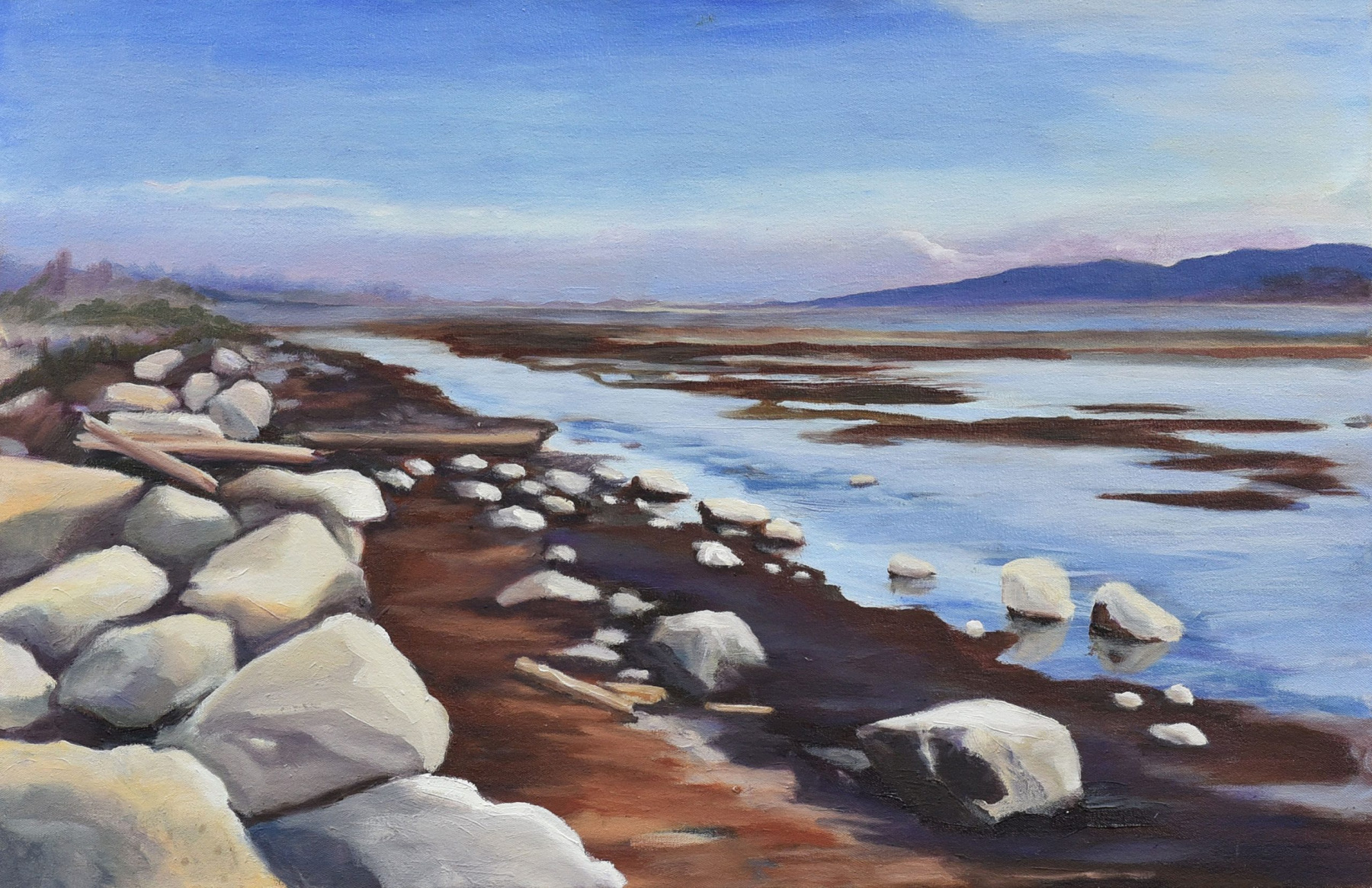 <h2>Bakers' Hunt At Boundary Bay<br />20 x 30</h2>