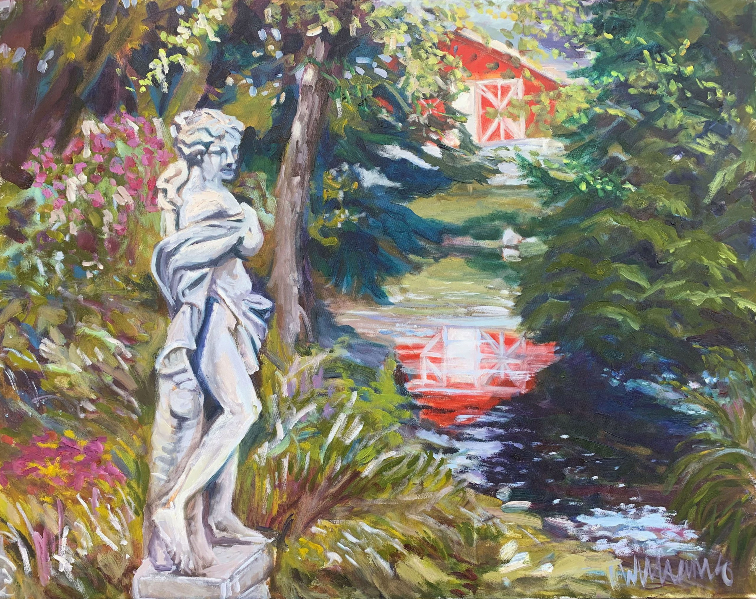 <h2>The Maiden And ThePond<br />24 x 30</h2>