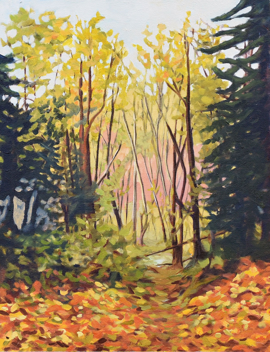 <h2>Trail Off 196 St<br />18 x 24</h2>